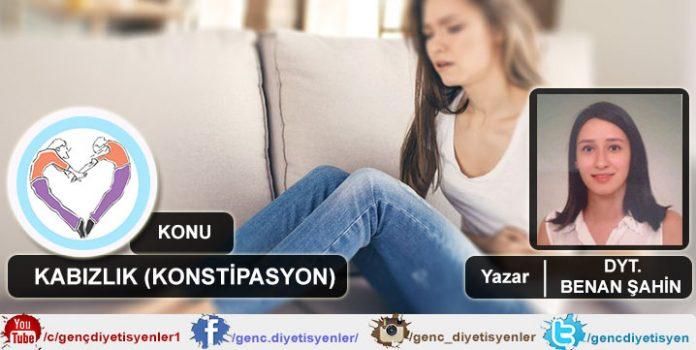 DYT. BENAN ŞAHİN KABIZLIK