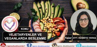 DYT. Hüsniye Yaraş Vejetaryenler Beslenme