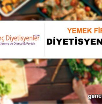 yemek firması diyetisyen ilanı