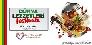 Dünya lezzetleri festivali