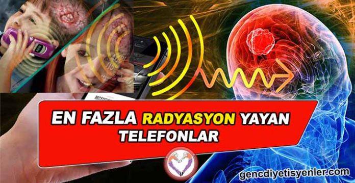 En Fazla Radyasyon Yayan Telefonlar