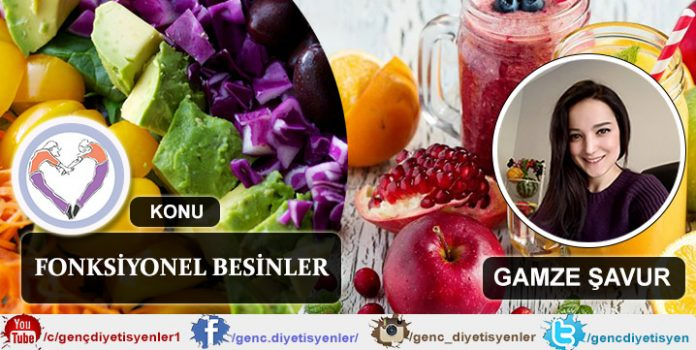 GAMZE ŞAVUR FONKSİYONEL BESİNLER