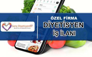diyetisyen iş ilanı yemek firması