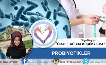 Kübra Küçükyılmaz Probiyotikler