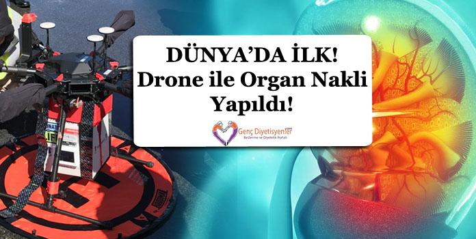 Drone ile organ nakli