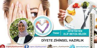 Diyetisyen Elif Beyza BİLDİK - Diyete Zihinsel Hazırlık