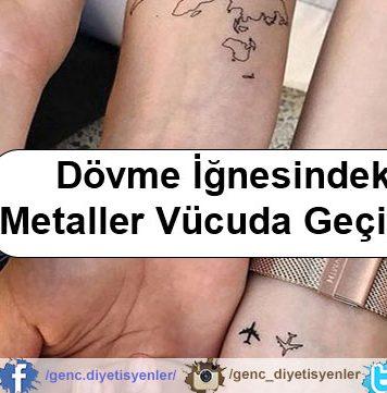 Dövme İğnesindeki Metaller Vücuda Geçiyor!