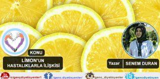 Senem DURAN - Limonun hastalıklarla ilişkisi