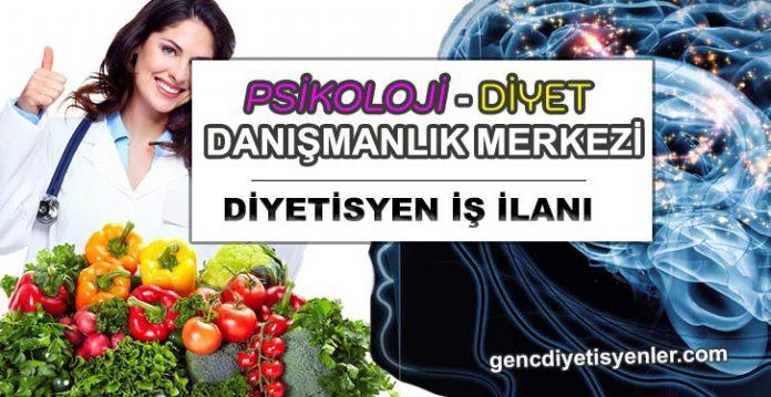 psikoloji merkezi diyetisyen ilanı